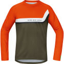 Gore Bike Wear Power Trail Orange Long Sleeve Jersey