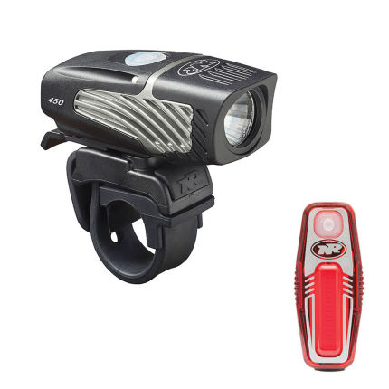 NiteRider Lumina 450 Micro and Sabre 50 Light Set