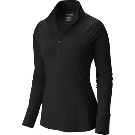 Mountain Hardwear Women's Butterlicious™ Long Sleeve 1/2 Zip