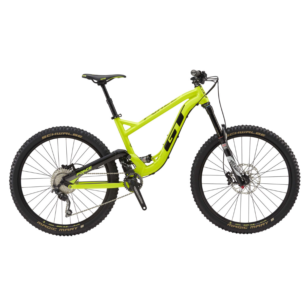 GT Force AL Sport (2017) Mountain Bike   Full Suspension Mountain Bikes