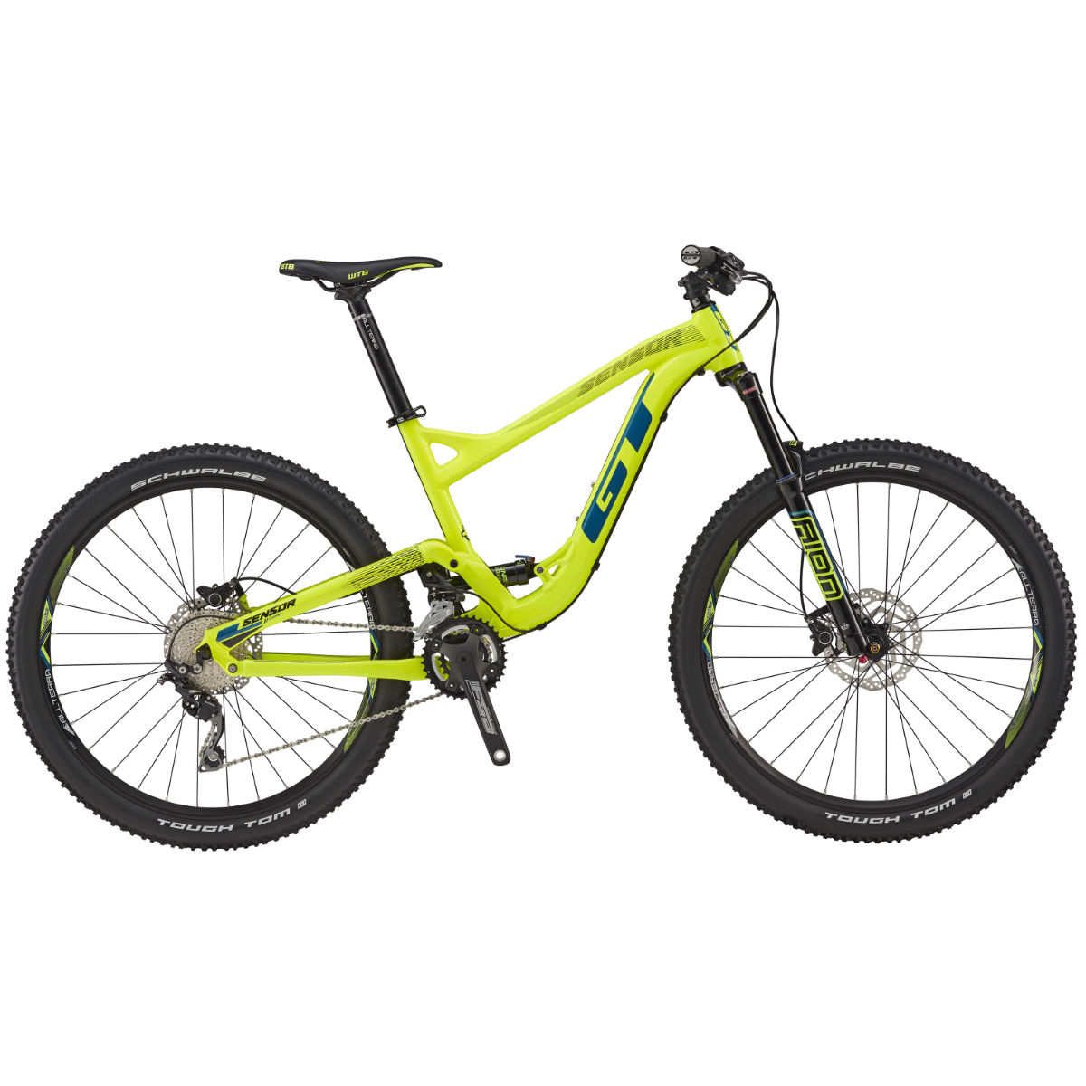 GT Sensor AL Comp (2017) Mountain Bike   Full Suspension Mountain Bikes