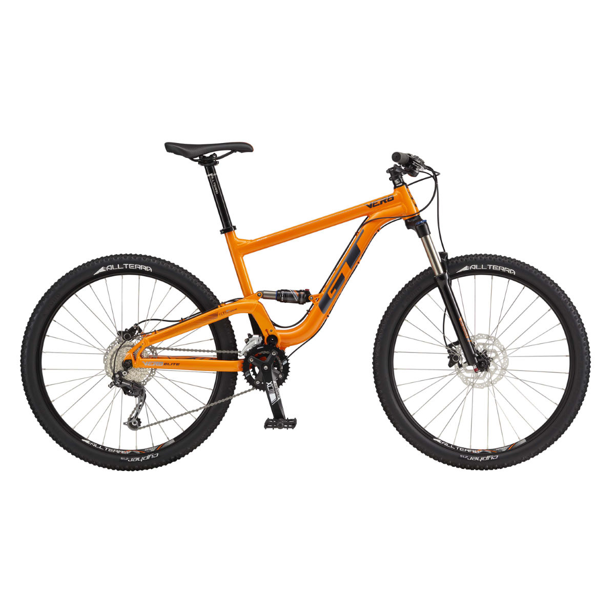 VTT GT Verb Elite (2017) - S Orange VTT tout suspendu