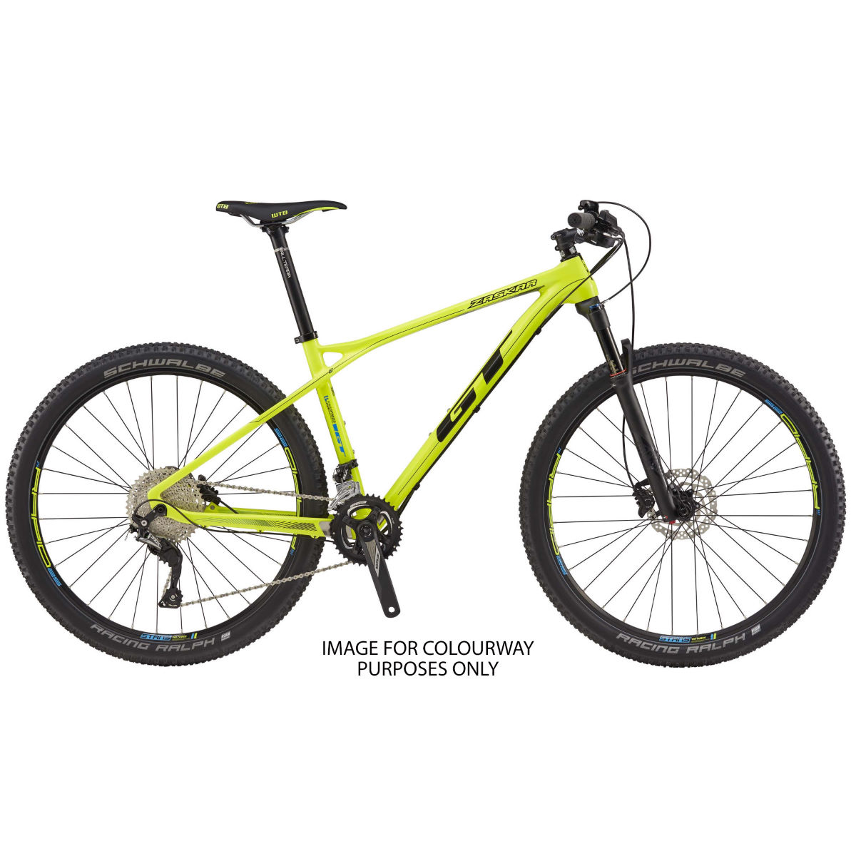 GT Zaskar Carbon Elite (2017) Mountain Bike   Hard Tail Mountain Bikes