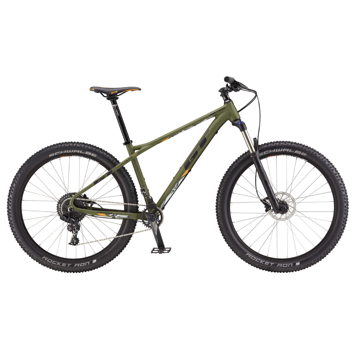 GT Pantera Elite (2017) Mountain Bike   Hard Tail Mountain Bikes