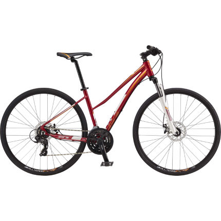 GT Transeo 5.0 Womens (2017) Hybrid Bike