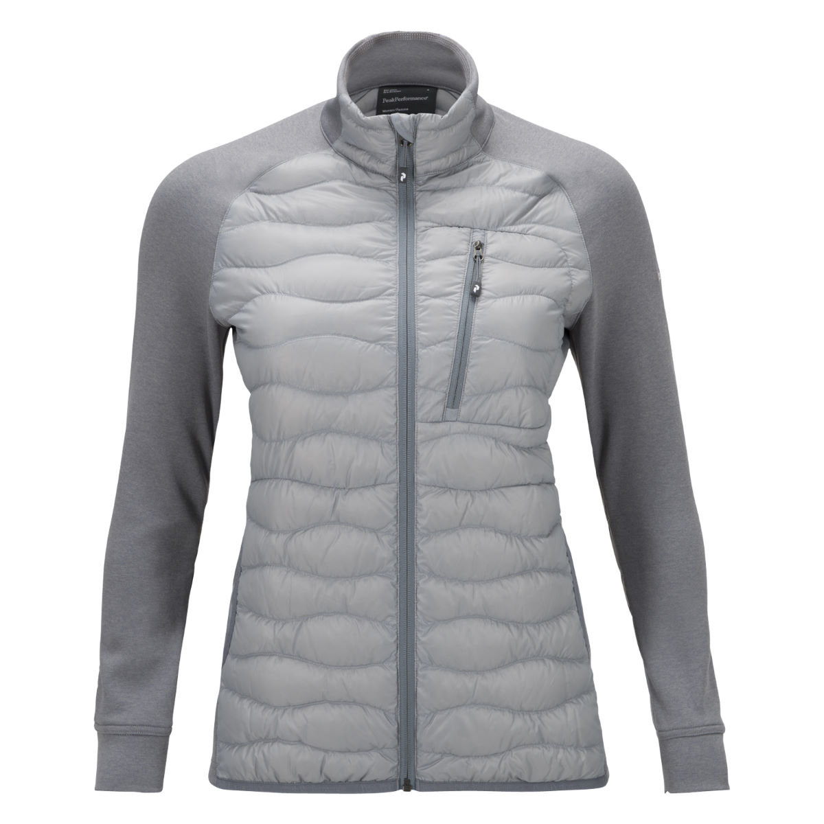 Peak Performance Women's Helium Hybrid Jacket - X Small Silver