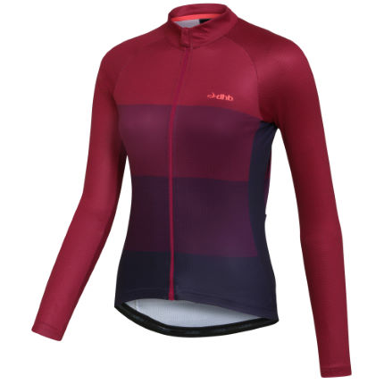Maillot Femme dhb Classic (manches longues, chiné)