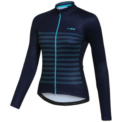 Maillot Femme dhb Classic Breton Micro Roubaix (manches longues)