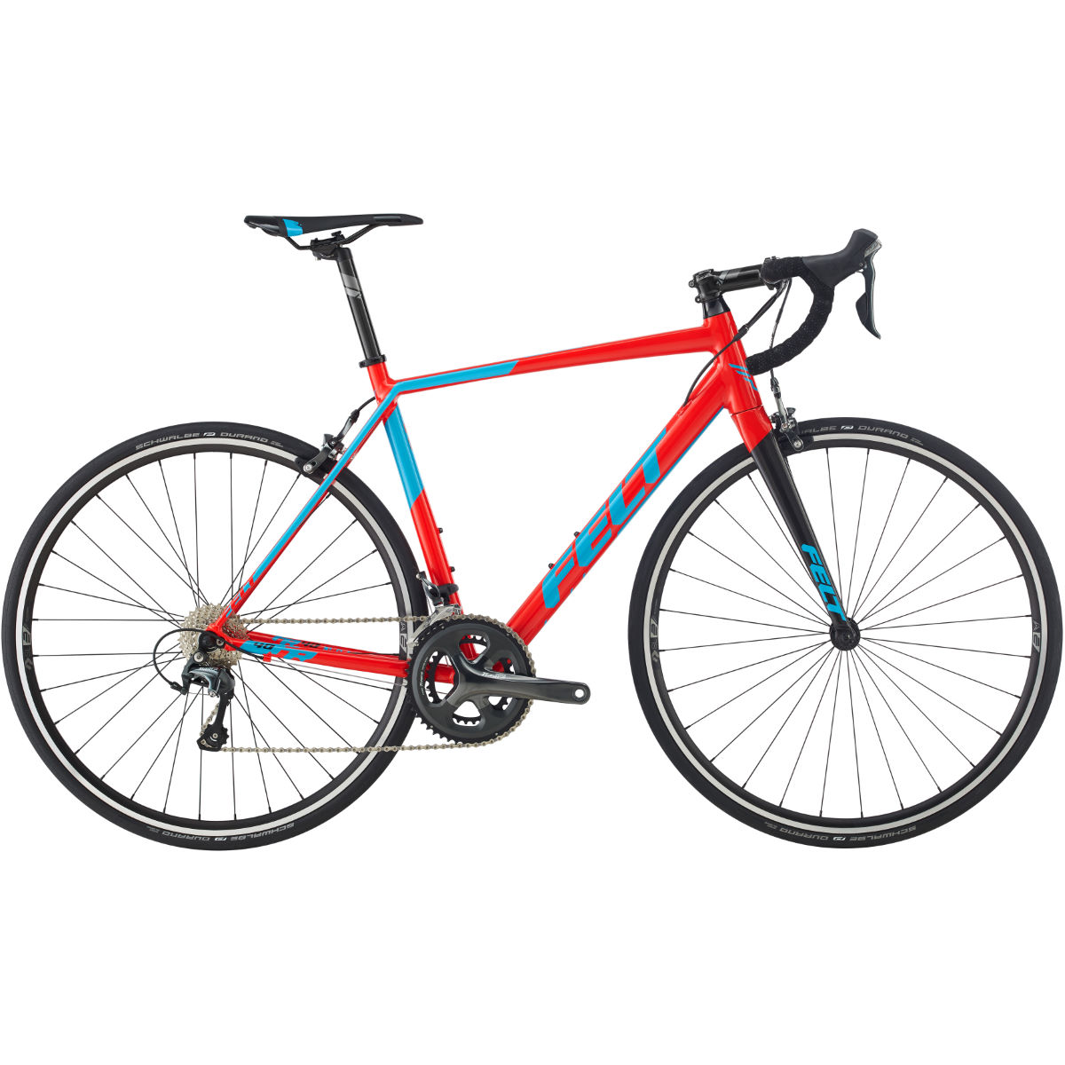 Vélo de route Felt FR40 (Tiagra, 2017) - 51cm Stock Bike Red/Blue
