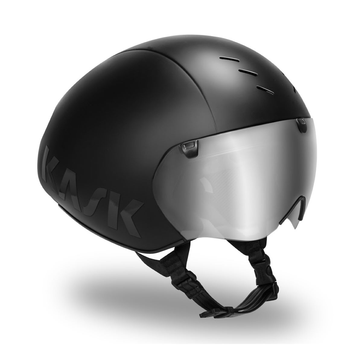 Casque Kask Bambino Pro (finition mate) - Large Noir mat Casques de route
