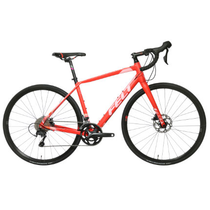 Felt VR40W Womens Road Bike (Tiagra - 2018) Red/Red 56c