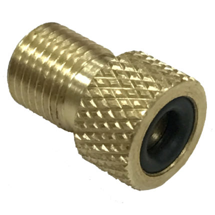 LifeLine Presta to Schrader Valve Pump Head Adaptor