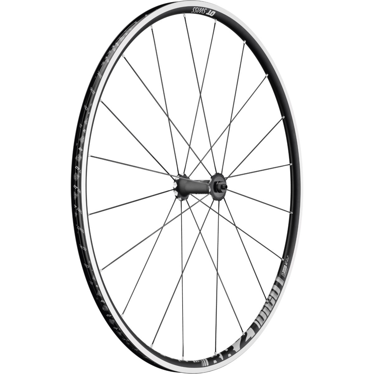Roue avant DT Swiss RR21 Dicut (alliage, jante large) - Front Noir Roues performance