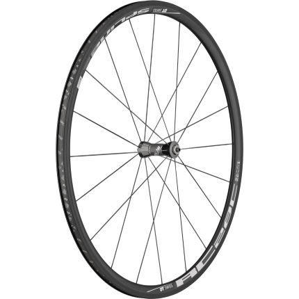 DT Swiss RC28 Spline Carbon Clincher Front (Black Hub)