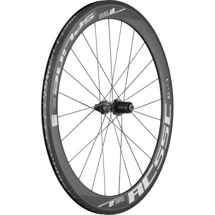 DT Swiss RC55 Spline Carbon Clincher Rear (Black Hub)