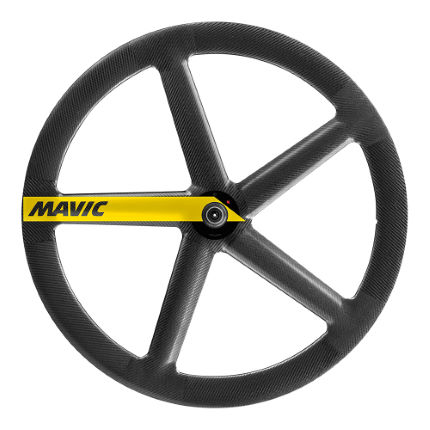 Mavic IO Rio 5 Spoke Forhjul (tubular, bane)