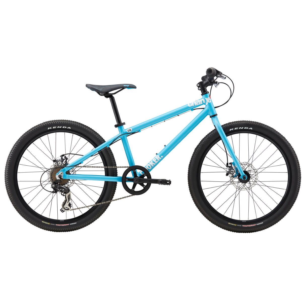Vélo Enfant Charge Cooker 24 (2017) - One Size Stock Bike Bleu