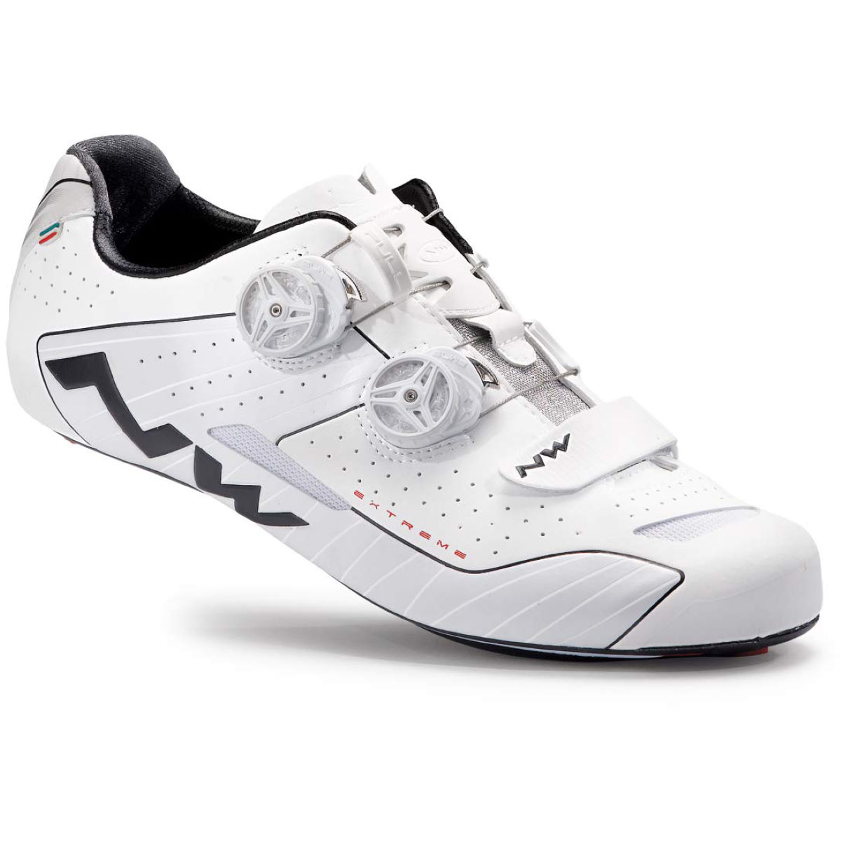 Chaussures de route Northwave Extreme Reflective - 40 Blanc/Blanc