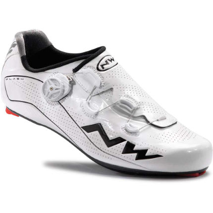 Northwave Flash Carbon Road Shoes White EU 43.5