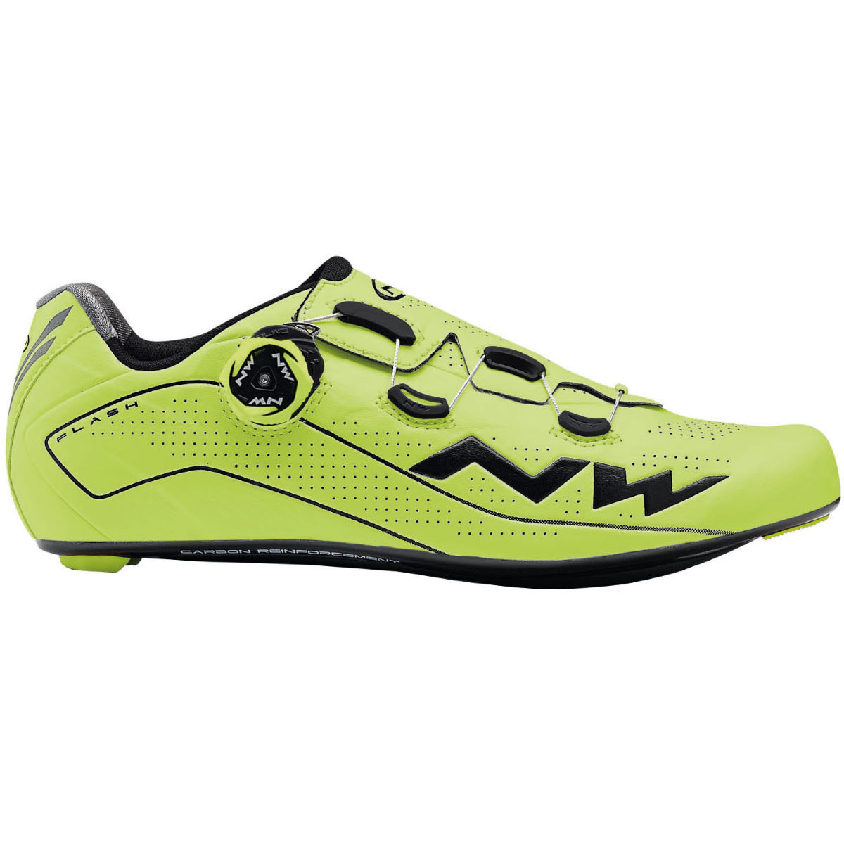 Chaussures de route Northwave Flash - 41 Yellow Fluo