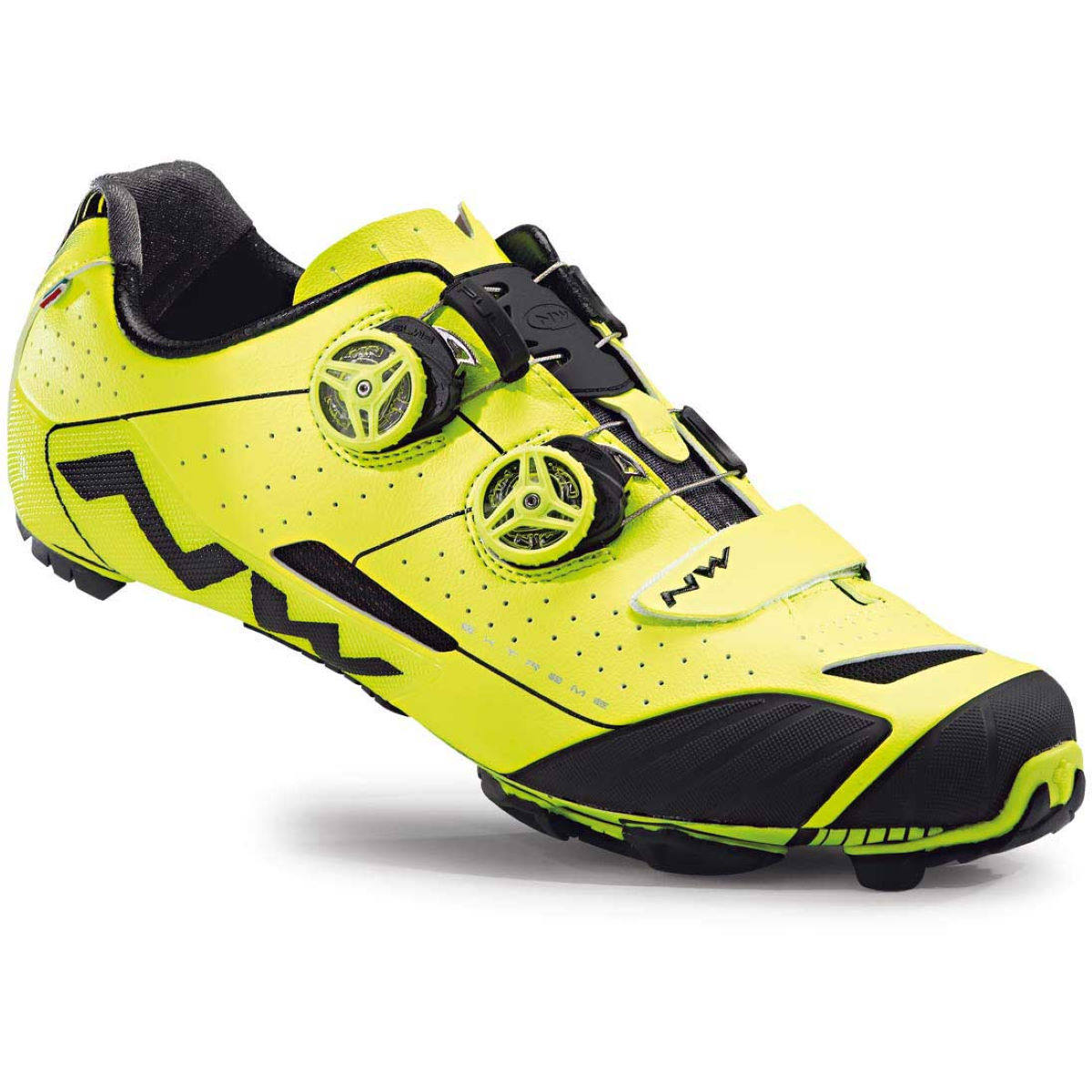 Chaussures VTT Northwave Extreme XC - 47 Fluo Yellow/Yellow