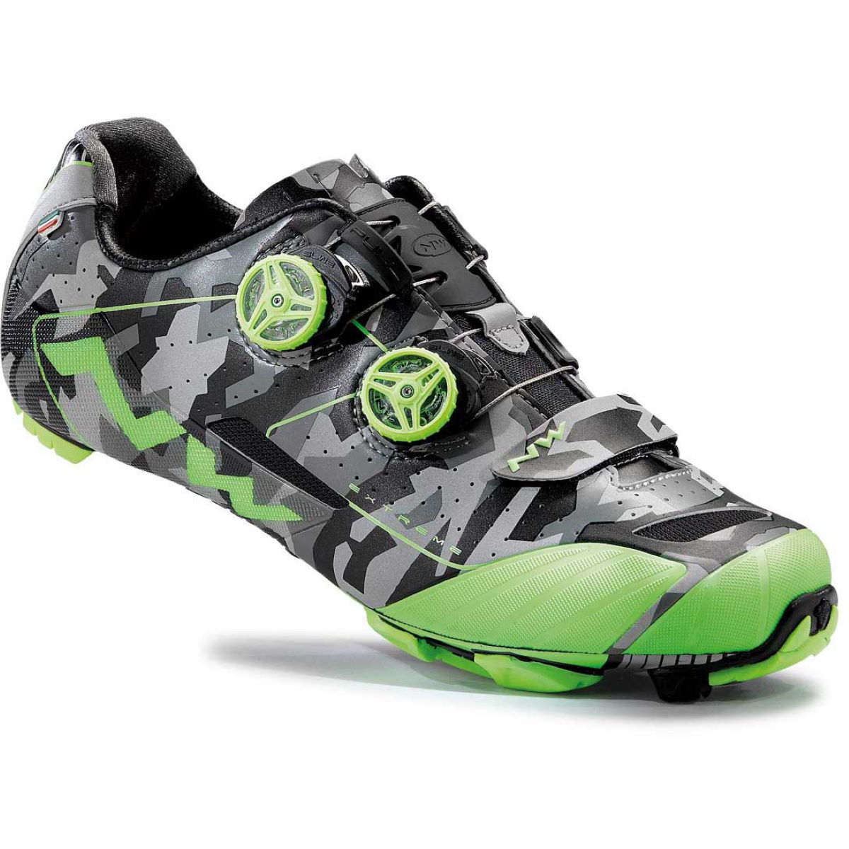 Chaussures VTT Northwave Extreme XC - 39 Reflective Camo/Gree