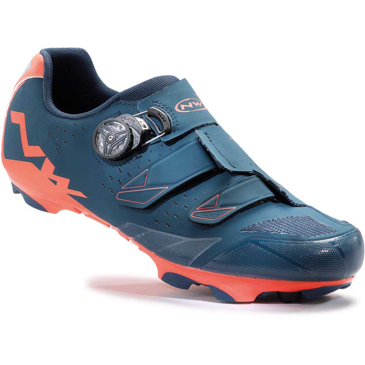 Chaussures Northwave Scream Plus - 43 Blue/Orange Chaussures de vélo