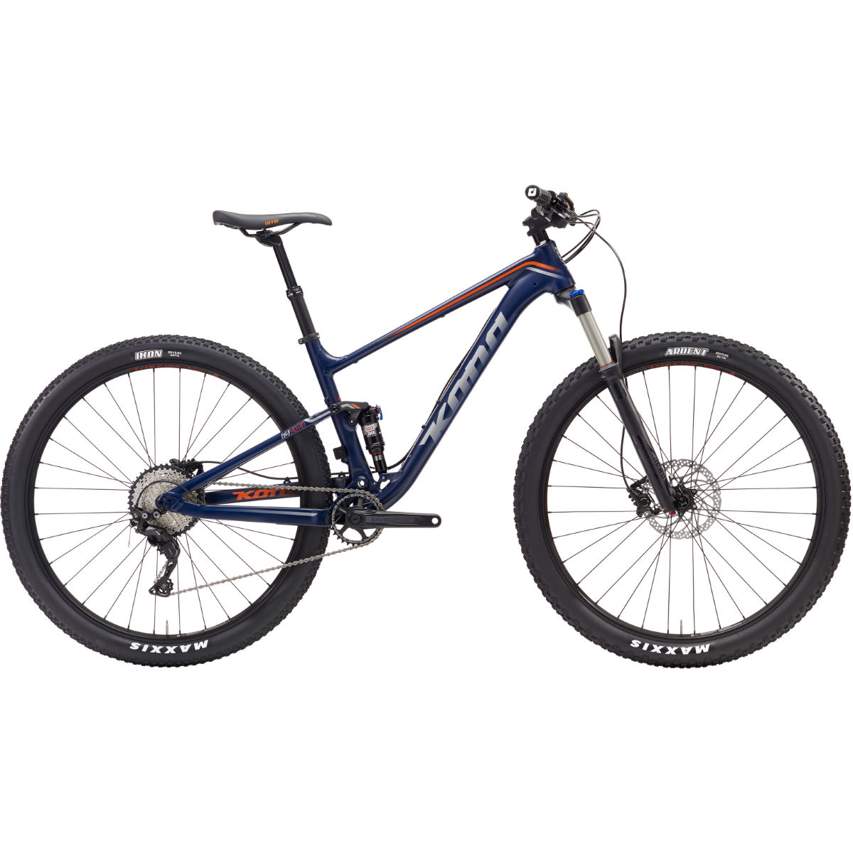 VTT Kona Hei Hei 29 (2017) - Medium Stock Bike Bleu