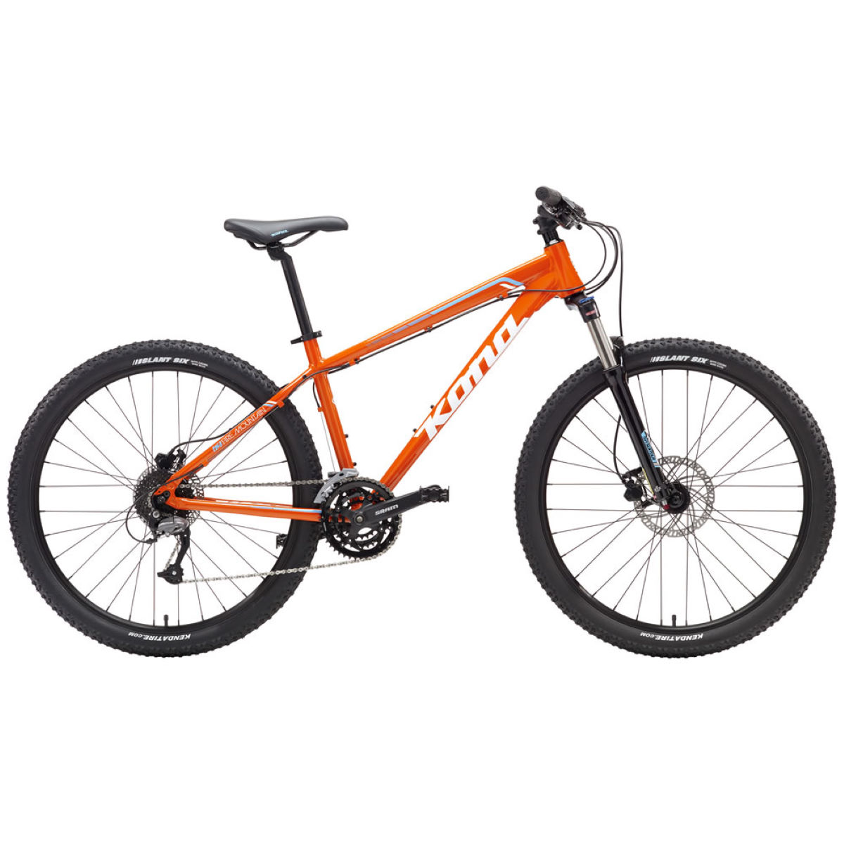 VTT Kona Fire Mountain (2017) - L Orange VTT semi-rigides