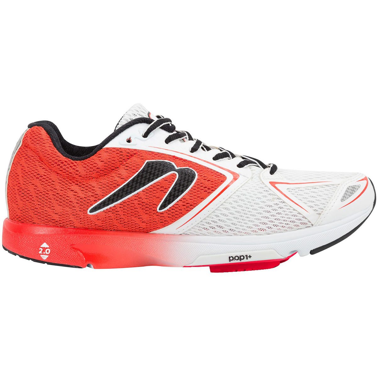 Chaussures Newton Running Shoes Distance VI - 12 UK Rouge/Blanc Chaussures de running amorties