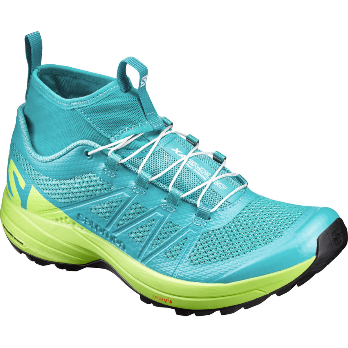 Chaussures Femme Salomon XA Enduro - 7,5 UK Ceramic/Lime
