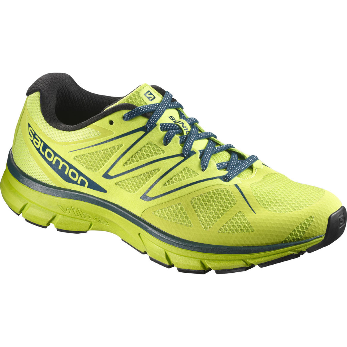 Chaussures Salomon Sonic (PE17) - 10 UK Lime Green Chaussures de running amorties