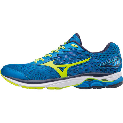 Mizuno Wave Rider 20 Laufschuhe (F/S 17, blau/orange)