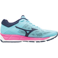 Mizuno Womens Synchro MX 2 Shoes Blue/Pink UK 5