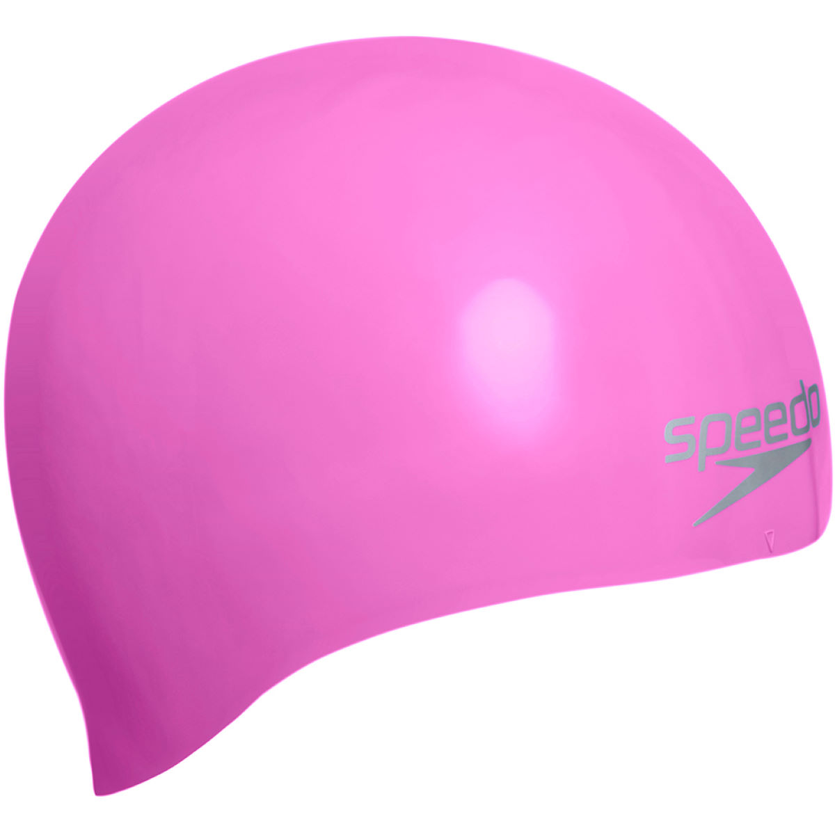 Bonnet de natation Speedo (uni, moulé en silicone) - One Size