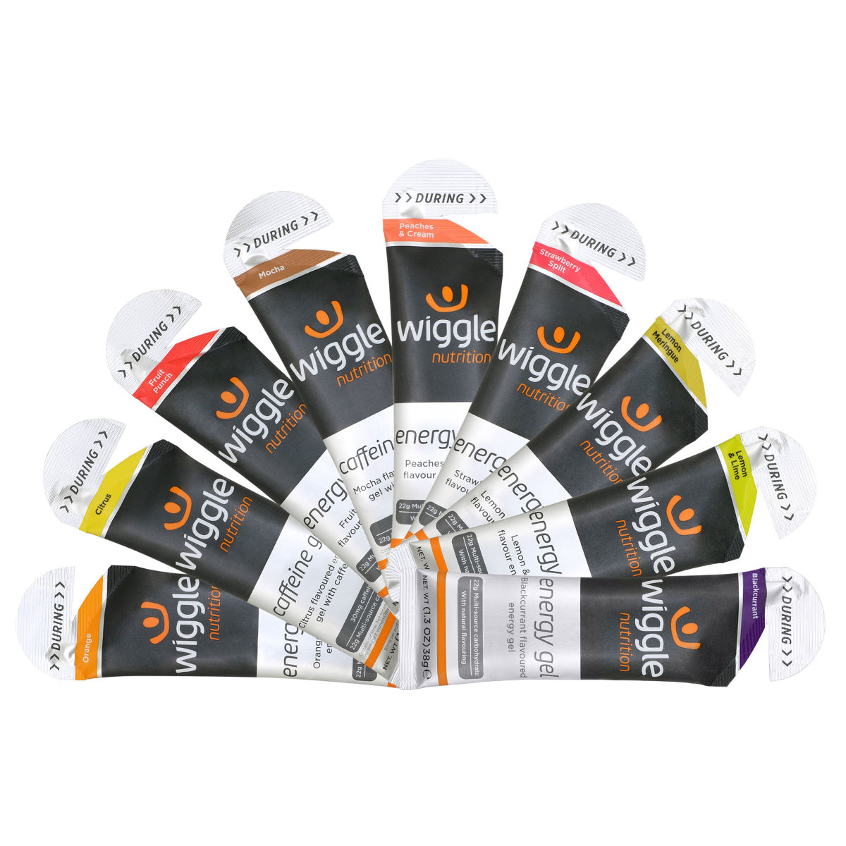 Wiggle Nutrition Energy Gels Pack (9x38g) EXP OCT