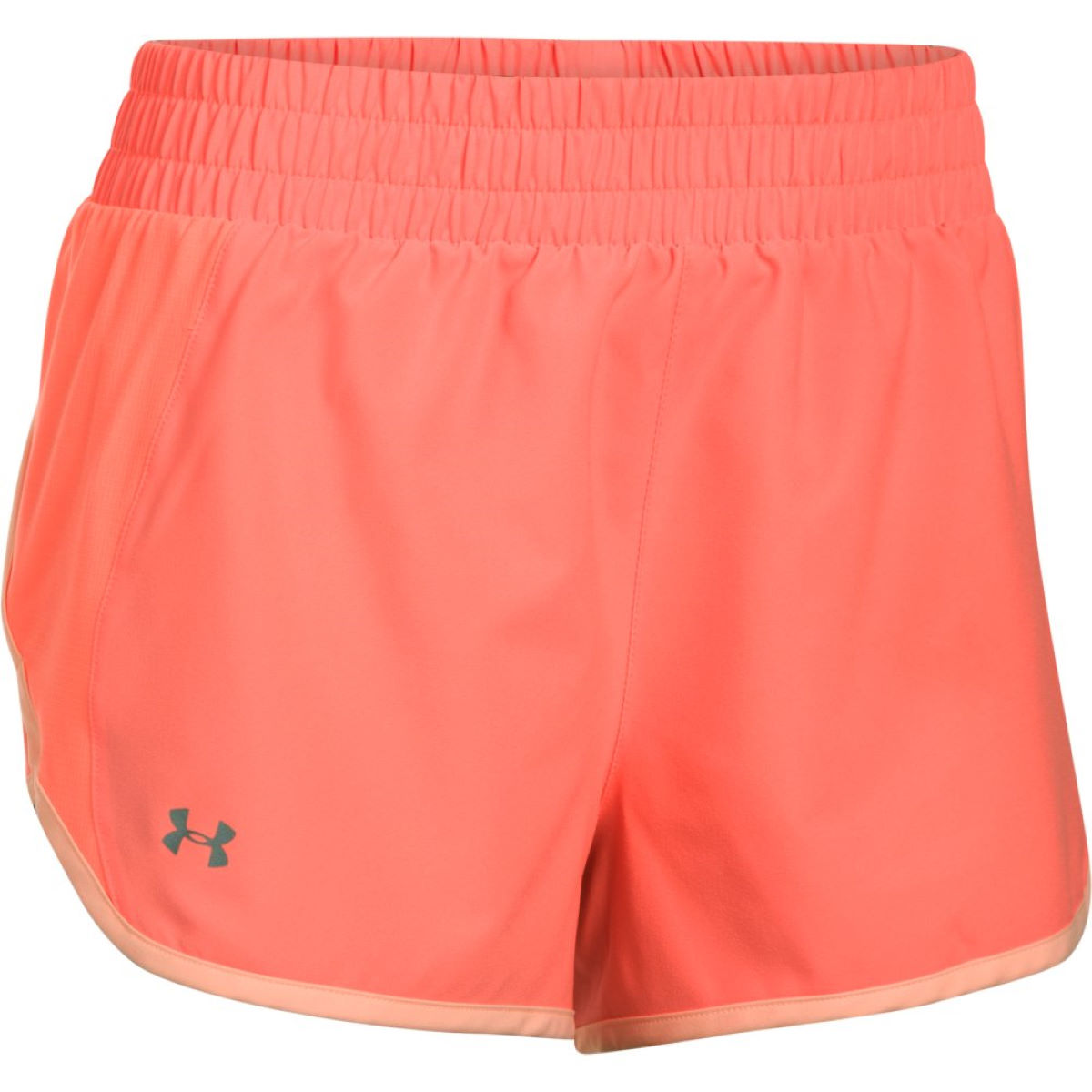 Short Femme Under Armour Launch Tulip (PE17) - XL Orange/Peach