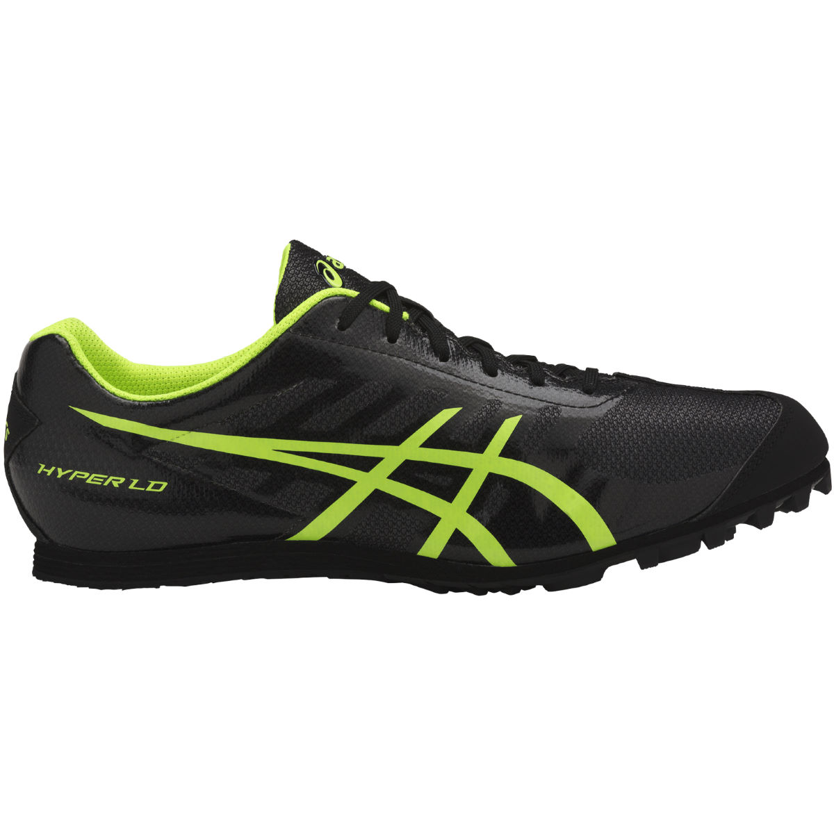 Chaussures Asics Hyper LD 5 - UK 11 Black/Saftey Yellow