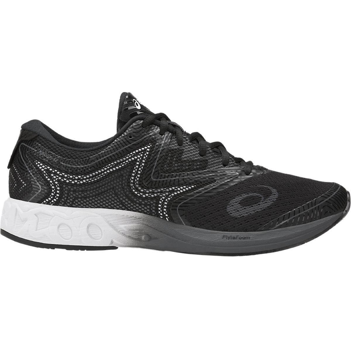Chaussures Asics Gel-Noosa FF - UK 7 Black/White/Carbon