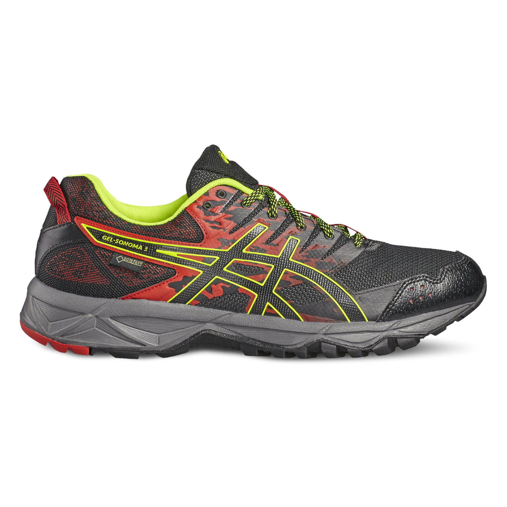 chaussures de running trail asics gel sonoma 3 gtx. Black Bedroom Furniture Sets. Home Design Ideas