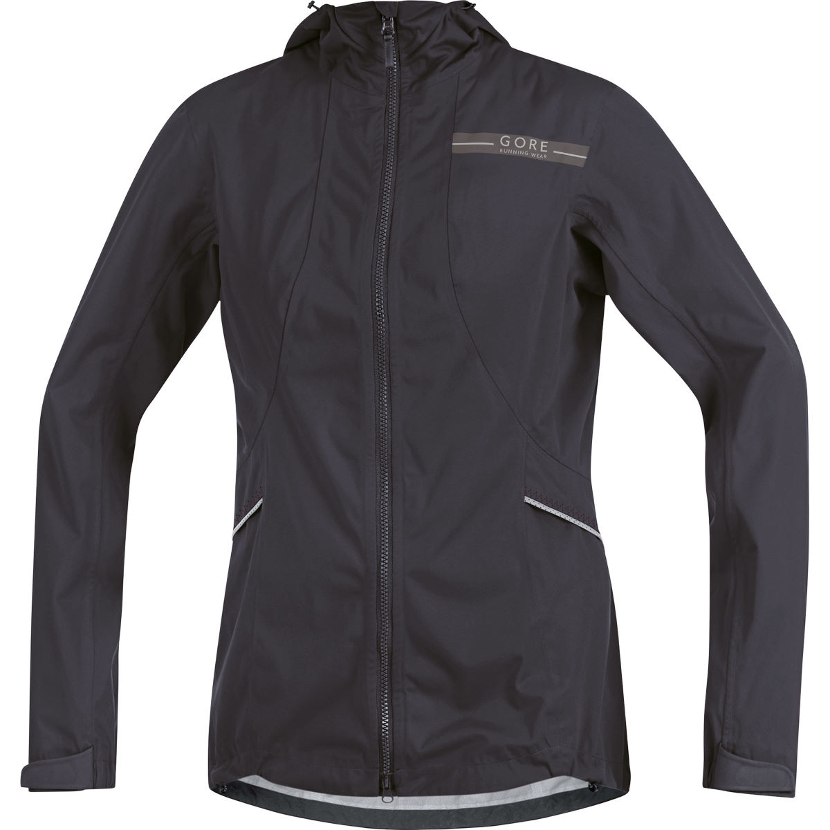 Veste Femme Gore Running Wear Air GORE-TEX® AS - 34 Raven Brown