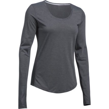 Maillot de running Femme Under Armour Threadborne (manches longues, PE17)