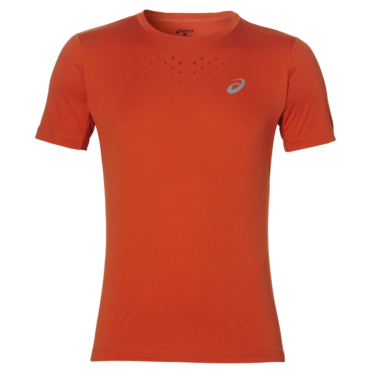 Maillot Asics Stride (manches courtes) - Medium 0516 Red Clay heathe