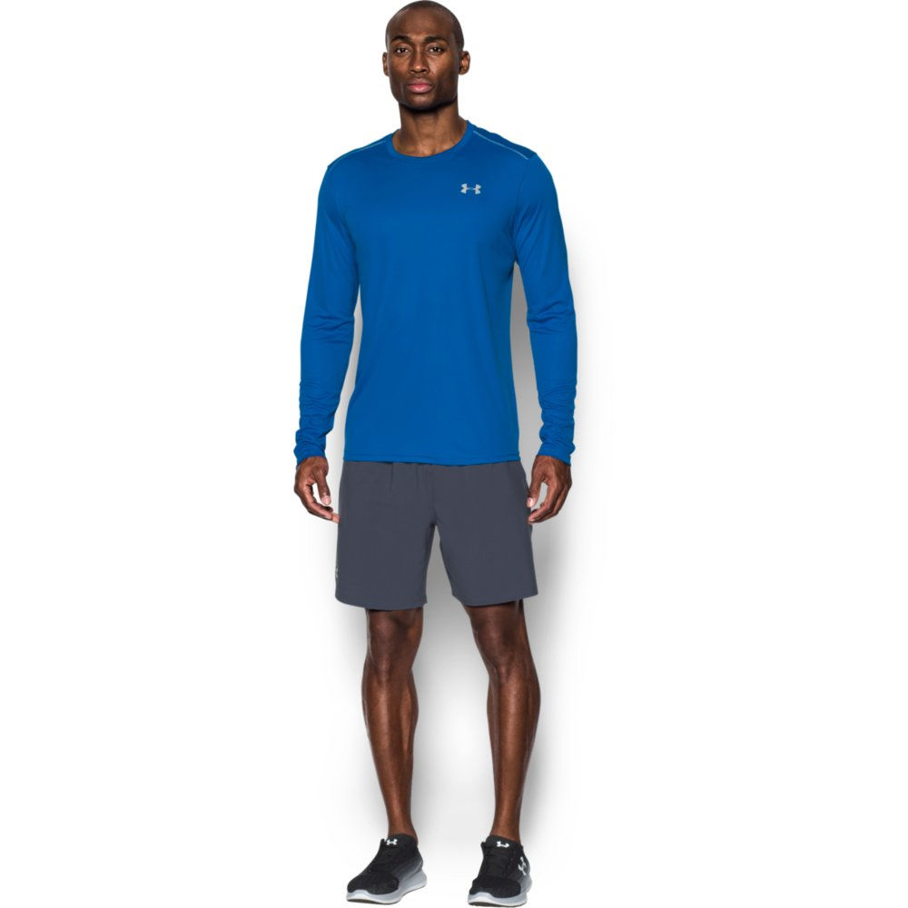 Wiggle under armour coolswitch run long sleeve v2 ss17 for Do under armour shirts run small