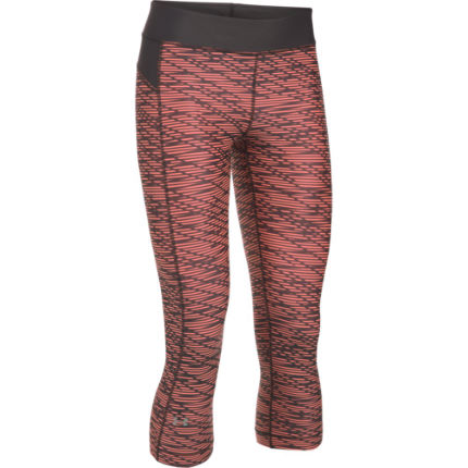 Under Armour HeatGear Armour Printed Capri Laufhose Frauen (F/S 17)