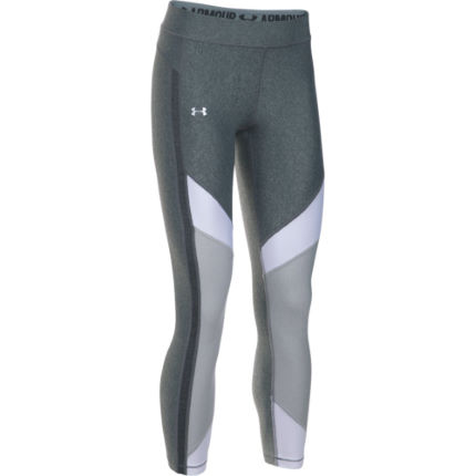 Under Armour HeatGear Color Blocked Ankle Crop Tights (VS17) - Dam