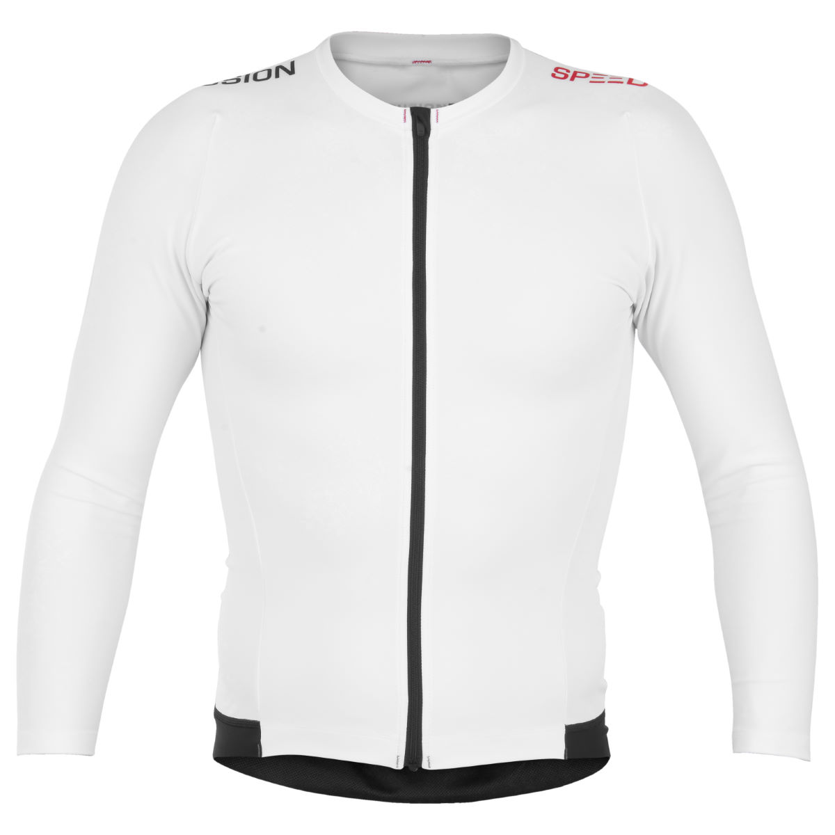 Maillot Fusion Speed (manches longues) - Small Blanc