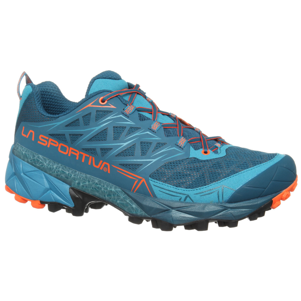 Chaussures La Sportiva Akyra - 11 UK Blue/Orange