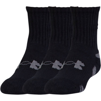 Chaussettes Under Armour HeatGear Crew (lot de 3, PE17)
