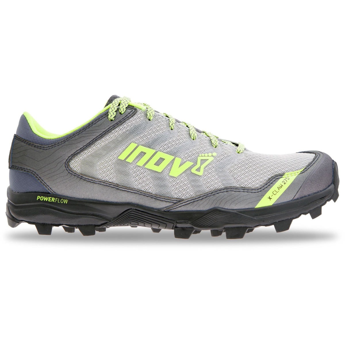 Chaussures Inov-8 X-Claw 275 - UK 10 BLACK/GREEN Chaussures de running trail